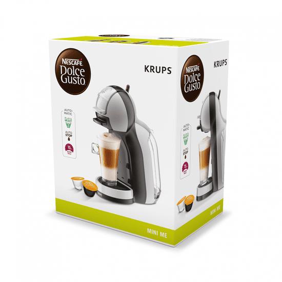 Krups kávovar na kapsle KP123B31 Nescafé Dolce Gusto Mini Me šedé - rozbaleno