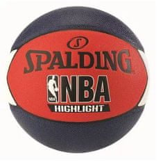Spalding žoga za košarko NBA Highlight R/W/B s.7