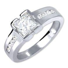 Brilio Silver Stříbrný zásnubní prsten 426 001 00416 04 - 3,06 g stříbro 925/1000