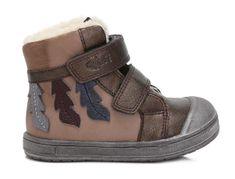 Ponte 20 dievčenské kožené topánky s listami