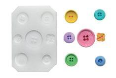 Silikomart Silikonová forma na fondán- knoflíky