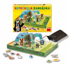 Dino Krtečkova zahrádka společenská hra v krabici 33x23x4 cm