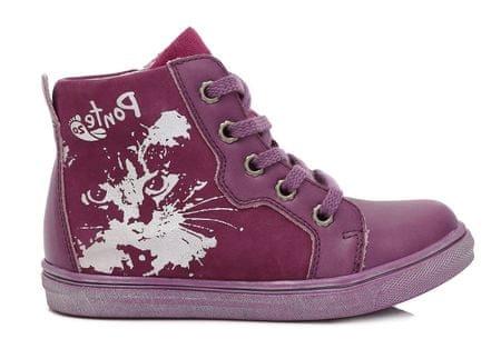 Ponte 20 Lány bőr cipő 28 lila
