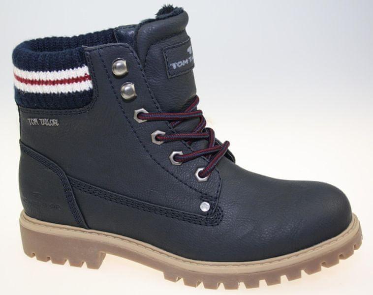 0da3fe1d43 Tom Tailor dámská kotníčková obuv 36 tmavě modrá