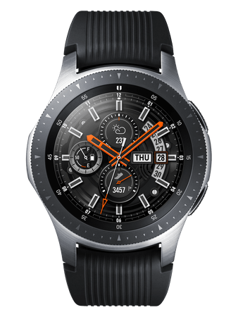 SAMSUNG Galaxy Watch 46mm, Silver (SM-R800NZSAXEZ)