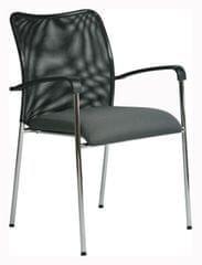 Antares Konferenční židle Spider šedá