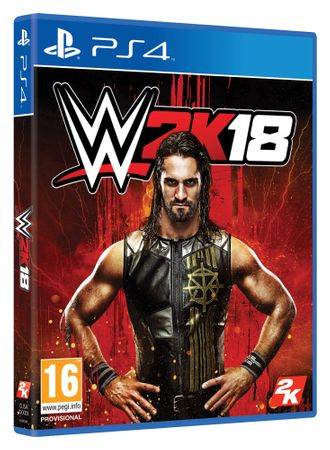 Take 2 igra WWE 2K18 (PS4)