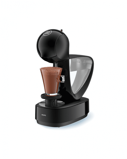 Krups kávovar na kapsle KP170831 Nescafé Dolce Gusto Infinissima černé - zánovní