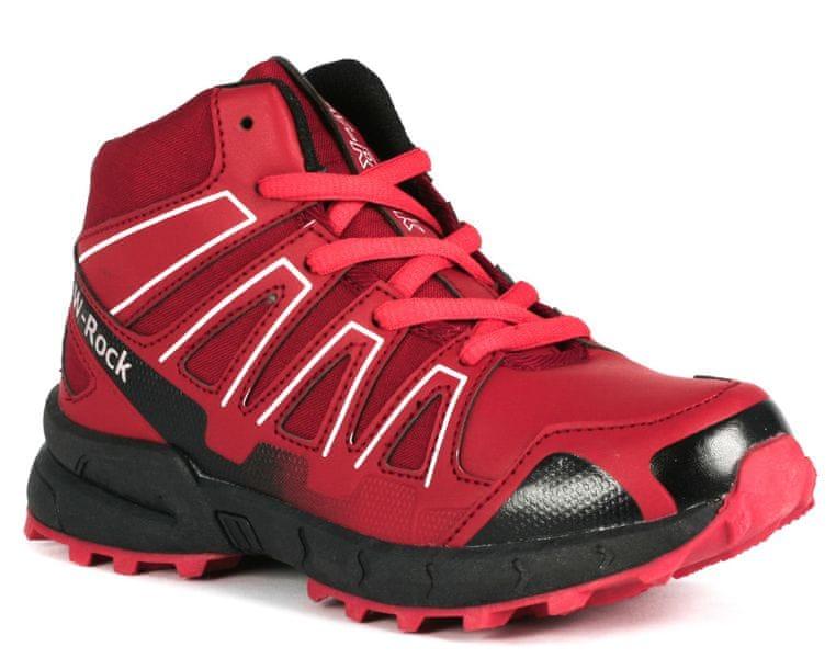 Wink dívčí outdoorová obuv 31 červená