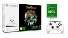 Microsoft Xbox One S 1TB + Sea of Thieves + Ovladač + Xbox Live Gold - 12 měsíců