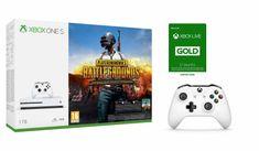 Microsoft Xbox One S 1TB + PlayerUnknown's Battlegrounds + Ovladač + Xbox Live Gold - 12 měsíců