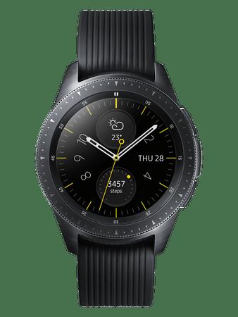Samsung Smartwatch Galaxy Watch 42mm, Midnight Black (SM-R810NZKAXEZ)