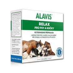 Alavis Relax 75mg dla psów i kotów 40 kapsułek