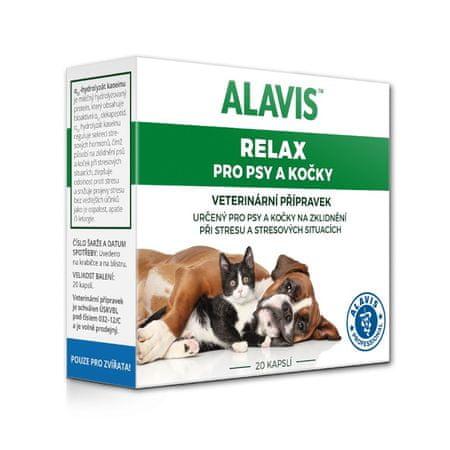 Alavis Relax 75mg pro psy a kočky 20cps