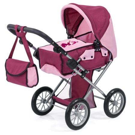 Bayer Design wózek dla lalek City Star burgund
