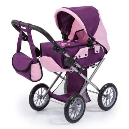 Bayer Design Kočík pre bábiky  City star fialová