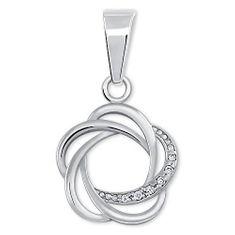 Brilio Silver Originální stříbrný přívěsek pro ženy 446 001 00374 04 - 0,77 g stříbro 925/1000