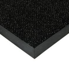 FLOMAT Černá textilní čistící vnitřní vstupní rohož Cleopatra Extra, FLOMAT (Bfl-S1) - 1 cm