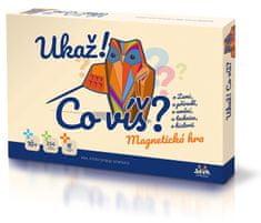VISTA Ukaž!, co víš? společenská magnetická hra