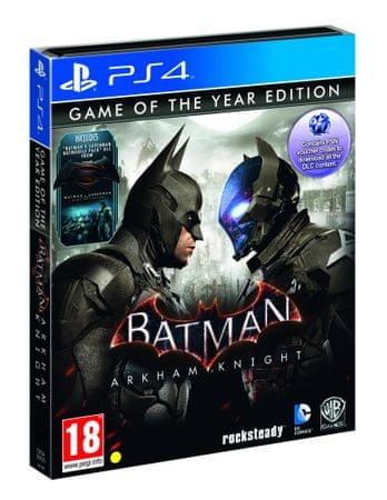 Warner Bros igra Batman Arkham Knight GOTY Steelbook (PS4)
