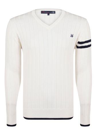 Giorgio Di Mare sweter męski M biały