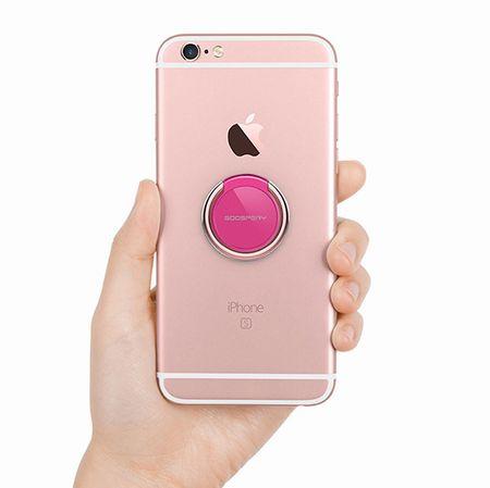 Goospery Ring 360 držalo za mobilne telefone, roza