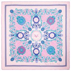 VERSACE 19.69 dámský světle růžový šátek Kingdom
