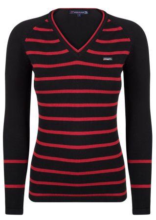 Giorgio Di Mare ženski pulover, črn, S