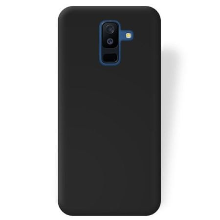 Silikonski ovitek za Samsung Galaxy J6 2018, črn