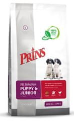 Prins hrana za pasje mladiče Fit Selection Dog Puppy & Junior, 10 kg