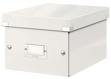 Krabice CLICK & STORE WOW malá archivační, bílá