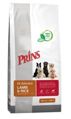 Prins hrana za pse Fit Selection Dog Lamb & Rice Hypoallergic, 15 kg