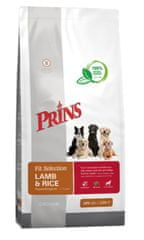 Prins hrana za pse Fit Selection Dog Lamb & Rice, 2 kg
