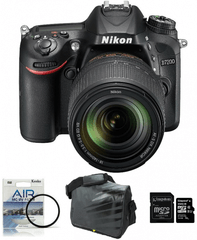 Nikon fotoaparat D-7200 kit 18-140VR + Fatbox 32GB + UV filter