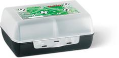 Tefal VARIOBOLO CLIPBOX  śniadaniówka czarny / półprzezroczysty-piłka nożna K3160114