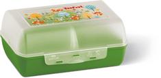 Tefal VARIOBOLO CLIPBOX śniadaniówka zielony/półprzezroczysty-lis K3160414