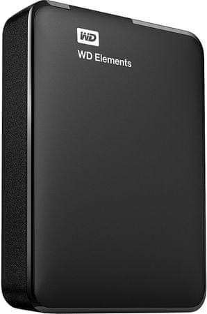 WD Elements Portable 4TB (WDBU6Y0040BBK-WESN) - rozbaleno