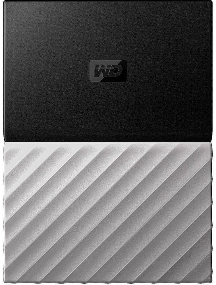 WD My Passport Ultra Metal 4TB, černá/šedá (WDBFKT0040BGY-WESN)