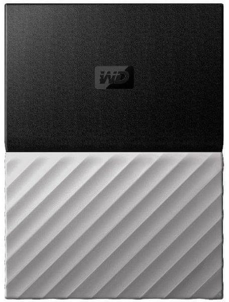 WD My Passport Ultra Metal 2TB, černá/šedá (WDBTLG0020BGY-WESN)