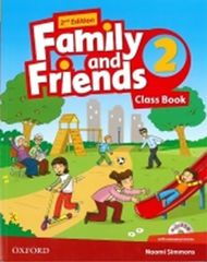 Simmons Naomi: Family and Friends 2nd Edition 2 Course Book with MultiROM Pack