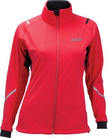 Swix ženska jakna Cross, rdeča, L