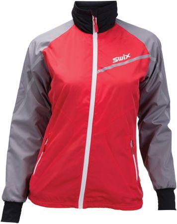 Swix ženska jakna Xtraining, rdeča, L