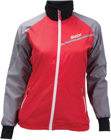 Swix ženska jakna Xtraining, crvena, L