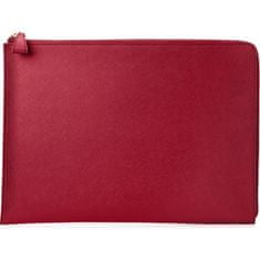 "HP Spectre 13.3"" Split Leather Sleeve (Empress Red) 2HW35AA#ABB"