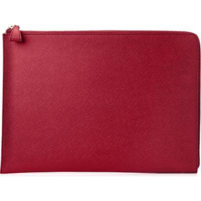 """HP Spectre 13.3"""" Split Leather Sleeve (Empress Red) 2HW35AA#ABB"""