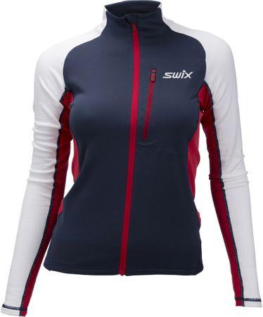 Swix Dynamic pulóver kék/fehér L