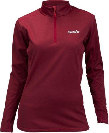 Swix ženska majica Cross, rdeča, L