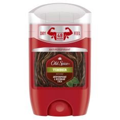 Old Spice Timber tuhý antiperspirant 50 ml