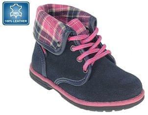 64f6191b368 Beppi dívčí kotníkové boty 23 modrá