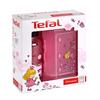 Tefal KIDS sada dóza plast + fľaša tritan 0,4 L ružová-princezná K3169114